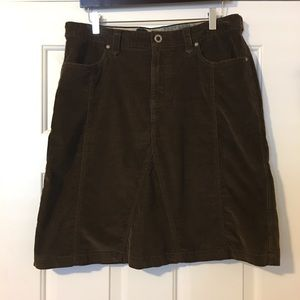The North Face Cord Skirt